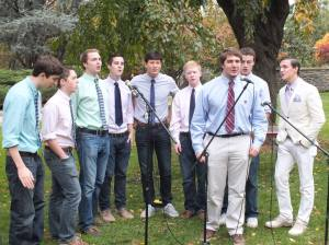 The Georgetown Chimes performed a set after the race.